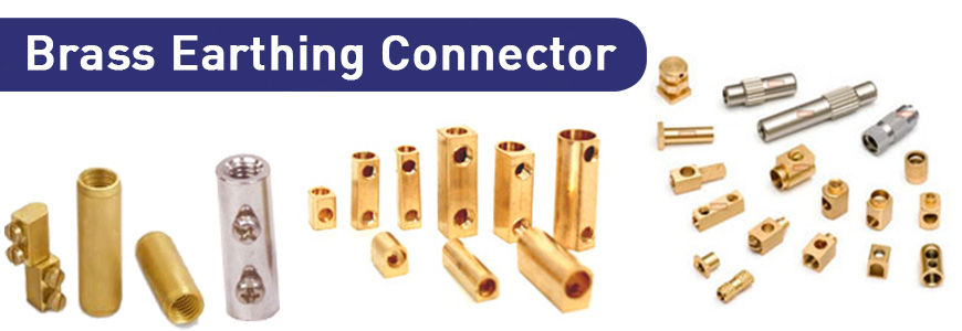 Brass Earthing Connector