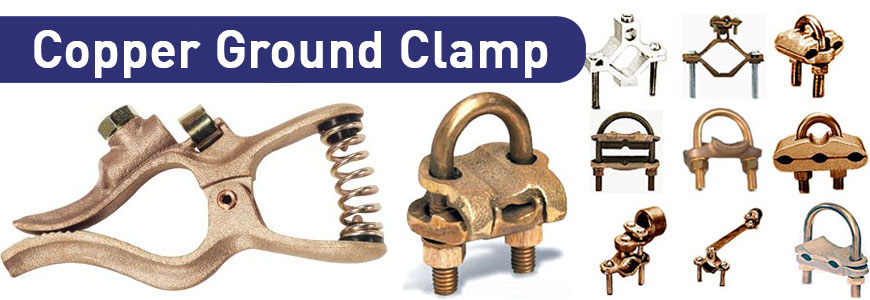 Copper Ground Clamp Brass Grounding Clamps Jamnagar