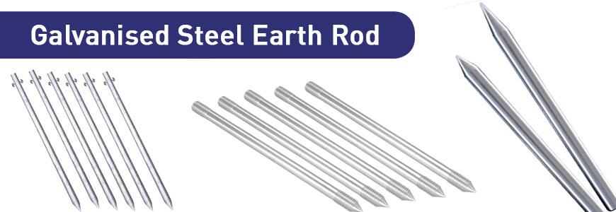 Galvanised Steel Earth Rod